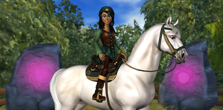 Pars à l'aventure à dos de cheval dans un monde 3D excitant !