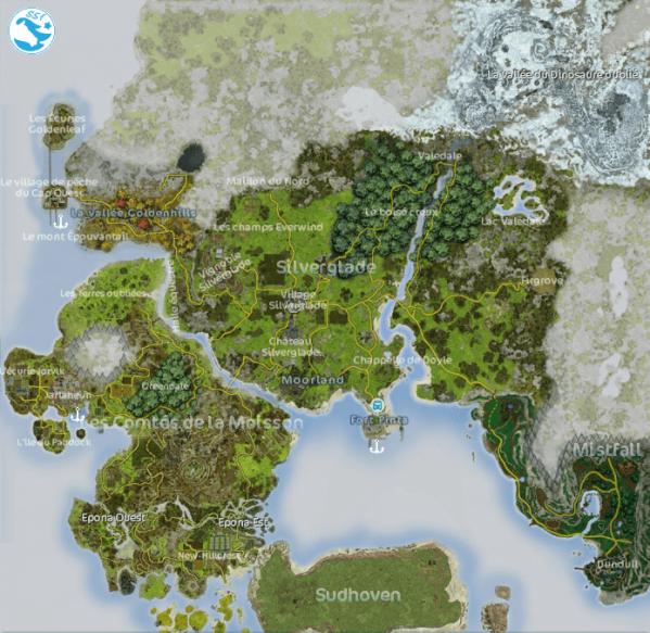 Carte de Jorvik