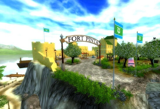 Entrée de Fort Pinta