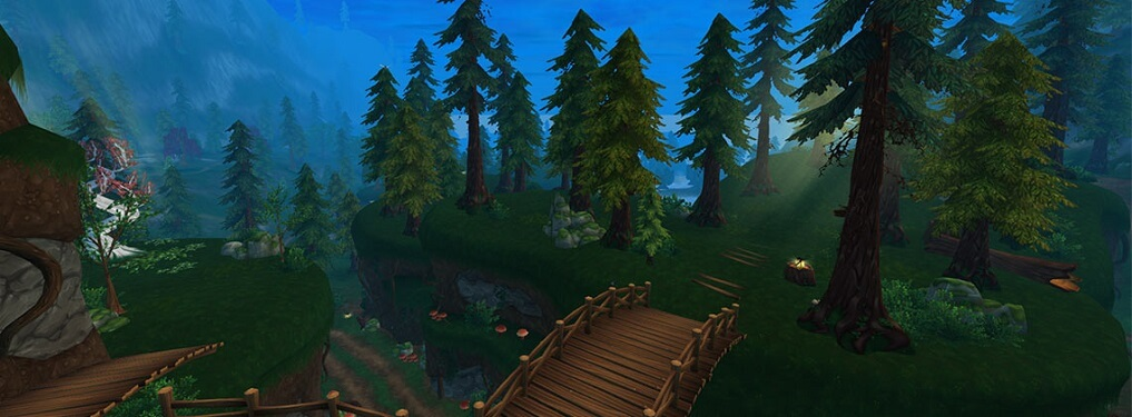 Forêt du Sud de Mistfall